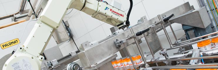 Automation in the Dairy Sector with industrial robotics